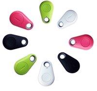 ses kayıt kutusu toptan satış-Kablosuz Bluetooth Anti-Kayıp GPS Tracker Alarm iTag Anahtar Bulucu Ses Kayıt Perakende Kutusu ile ios Android Smartphone Için Özçekim Deklanşör