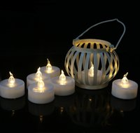 Wholesale head lamp battery powered resale online - LED Electronic Candle Flameless Lamp Head Flame Flicker Light Candles Realistic Battery Powered Candle for Christmas Valentine s Day