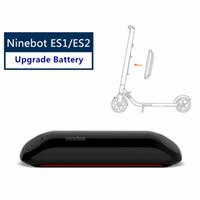 Wholesale electric hover skateboard for sale - Group buy Original Ninebot Upgrade Battery Kit for KickScooter ES1 ES2 Smart Electric Scooter foldable lightweight hover board skateboard