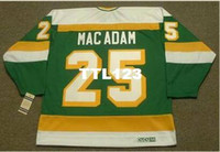 Wholesale north stars hockey resale online - Men AL MACADAM Minnesota North Stars CCM Vintage Home Hockey Jersey or custom any name or number retro Jersey