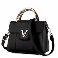 ручки для дизайнера оптовых-Поддельные дизайнерские сумки в роскошный женский кожаный клатч дамы сумки Марка женщины сумка-мессенджер воздуха-мешок a основной роковой ручка