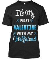 ingrosso camicia dei fidanzati-T-shirt casual unisex Valentine For Boyfriend Standard (S-5XL)