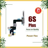 Wholesale Iphone Off - Power Button On Off Flex Cable For iPhone 6S Plus 6SPlus Mute Volume Mute Button Switch Connector Sensor Ribbon Replacement Parts
