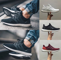 Wholesale Factory Direct Fabric - Factory Direct Sale Ultra Boost 3.0 4.0 Triple Black White Women Men Running Shoes Oreo CNY Blue Grey Sports Sneaker Trainer