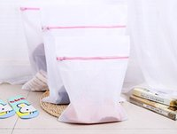 Wholesale legs net for sale - Group buy 50Set S M L Clothes Washing Machine Laundry Bra Aid Lingerie Mesh Net Wash Bag Pouch Basket