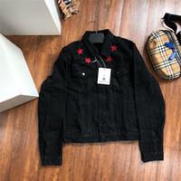 kadınlar için vintage giyim stilleri toptan satış-Moda Marka Giyim Denim Palto Yeni Gelenler Erkekler Denim Ceketler 2018 Yeni Moda Tasarımcısı Ceket Kadın Vintage Stil Selvedge Jean Coats
