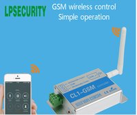 Wholesale sms security cameras for sale - CL1 GSM Wireless Remote Access Control GSM Gate Opener GSM SMS Smart Home Security System Switch