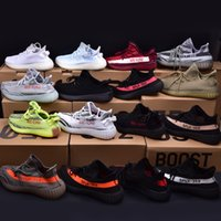Wholesale Royal Irons - Boost 350 V2 Red Running Shoe Sply 350 Season 3 Iron Man Basketball Shoes Men Women Boost V2 Sneakers Red Shoe With Box,receipt,Socks XZ01