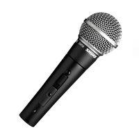 yüksek kaliteli mikrofonlar toptan satış-Açık ve Kapalı Anahtarı ile SM58S Dinamik Vokal Mikrofonu Vokal Kablolu Karaoke El Mikrofonu Sahne ve Ev Kullanımı için YÜKSEK KALITELI