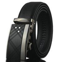ceinture de vent achat en gros de-2018 boucle automatique de ceinture en cuir de mode mixte hommes vent véritable haute qualité ceinture en cuir de haute qualité pour hommes