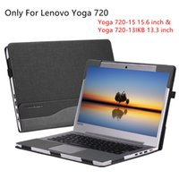 Wholesale lenovo inch case - For Lenovo Yoga 720 13.3 15.6 inch Tablet Laptop Sleeve Case PU Leather Detachable Cover For Yoga 720-13 720-15 Full Protection