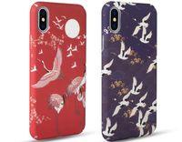 ingrosso iphone casi di ciliegio in fiore-Casse del telefono della gru del fiore di ciliegio giapponese Meachy per iPhone 7 plus 8 Plus Custodia per iPhone 6 6s plus X Cover rigida Capa N70