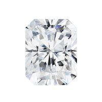 renk değeri toptan satış-0.2Ct ~ 10.0Ct (2 * 4 MM ~ 10 * 14 MM) Sertifikalı D / F Renkli Parlak Kesim VVS Berraklık Mükemmel Lab Diamond Mozanit Pırlanta Testor Pozitif Değer