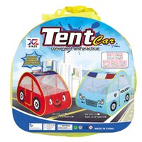 Wholesale house home toys - Children Large Home Toy Tent House Baby Funny Oceanic Pool Police Tents Parent Child Communication Interactive Toy 42dm W