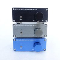 Wholesale Digital Audio Power Amplifier - WEILIANG AUDIO HiFi Class 2.0 Audio Stereo Digital Power Amplifier TPA3116 Advanced 2*50W Mini Home Aluminum Enclosure amp