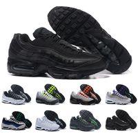 erkekler için yeni çizmeler toptan satış-Drop Shipping Toptan Koşu Ayakkabıları Erkekler Yastık 95 OG Sneakers Çizmeler Otantik 95 s Yeni Yürüyüş İndirim Spor Ayakkabı Boyutu 36-46
