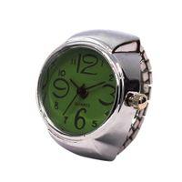 montres analogiques cool achat en gros de-2018 hommes montres dames cadran montre analogique à quartz en acier créatif montre à quartz élastique à quartz élastique