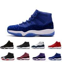 ingrosso polo rosso bianco blu-11S scarpe da basket uomo 11 XI Citrus 72-10 bianco Olympic Concord Gama blu Varsity Red Navy Gum Sneaker scarpe da ginnastica in oro metallizzato US 5.5-13