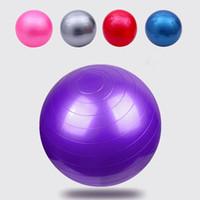yoga-balance-übungen großhandel-Yoga-Ball-starke explosionssichere Massage-Bälle, die Ball-gymnastische Übungs-Yoga-Balancen-Kugel 45/55/65 / 75CM aufprallen Großverkauf