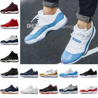 Wholesale Lycra Tops For Women - With Box Space Jam 45 11 Spaces Jams Gym Red Basketball Shoes for Men Women Top quality 11s Athletic Sport Sneakers Size US 5.5-13 Eur 36-47