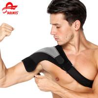 almofada de suporte de ombro venda por atacado-Esportes Ombro Protetor Pad Proteção Ombro Guarda Back Posture Suporte