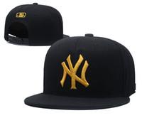 любители бейсбола оптовых-2018 NY фуражка многоцветный хип-хоп Бейсбол 100% хлопок шапки вышивать любителей моды случайные регулируемые Snapback шляпы Мужчины Женщины козырек