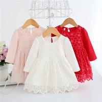 sonbahar bebek partisi elbisesi toptan satış-