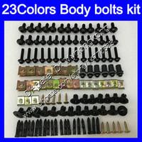 Wholesale 1198 fairings kit online - Fairing bolts full screw kit For DUCATI S S S Body Nuts screws nut bolt kit Colors