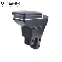 Wholesale honda car parts online - For Honda Fit JAZZ armrest box central Store content box products interior Armrest Storage car styling accessories parts