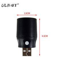 небольшой мини-блок питания оптовых-ULIFART USB Light Mini USB Lamp Reading Gadget Led Electronic PC Gadgets Small Portable Table Lamp For Power Bank Gadget