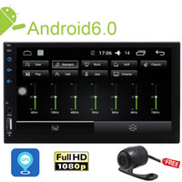 Wholesale mp3 mp4 mp5 android online - Reversing Camera Android Car MP5 Player Capacitive Touch Screen Double Din Car Stereo In Dash GPS Navigation Radio Multimedia System