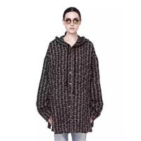ingrosso donne di tipo autunno-FC2018SS Autunno e inverno con cappuccio giacca tipo giacca a vento di alta qualità moda casual uomo e donna coppia giacca HFBYJK116