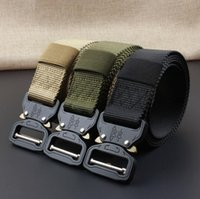 1000d Thicken Nylon Tactical Belts Swat Military Equipment Knock Off Army Belt Heavy Duty Us Soldier Combat Men Waistband 3.8cm Apparel Accessories