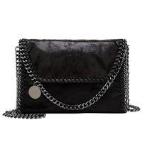 embragues de diseño al por mayor-NIBESSER Fashion Womens Design Chain Detail Cross Body Bag Ladies Shoulder Bag Embrague Bolsa Luxury Designer Bolsos de noche