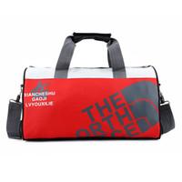 pequenos sacos de nylon venda por atacado-Saco de desporto impermeável ultraleves dobrável exterior Gym Bag aptidão que funciona Formação Footbal Basketball viagem Men Lady