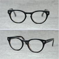 df89ab08b6 PS427 Vintage Small Glasses Clear Lenses Round Optical Spectacle Eyeglasses  Men Women Eyewear Frames Brand Myopia Wiht box