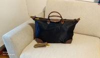 erkek marka seyahat çantası toptan satış-Ultra-büyük kapasiteli Su Geçirmez Marka Tasarımcı Adam Kadın Çantası Naylon Seyahat Saklama çantası kısa kolu erkek kadın Çanta Omuz Çantaları