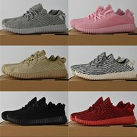 Wholesale Man Diving - 2018 Boost 350 Running Shoes kanye west black turtle dove moonrock oxford Tan Boots Top Quality Lightweight Spiy 350 Sneakers
