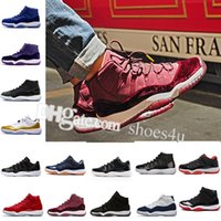 Wholesale Good Jams - Good Quality 11 Mens Basketball Shoes Space Jam 45 Gym Red Midnight Navy Win Like 82 Womens Gamma Blue 11s XI Sneakers US 5.5-13 Eur 36-47
