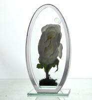 Wholesale glazed vases - Small High quality mirror double glazing vase beautiful family decoration