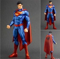 Wholesale Dc Toys - ARTFX + STATUE DC Super Hero Superman 1 10 Scale Pre-Painted PVC Action Figure Collectible Model Toy 20cm