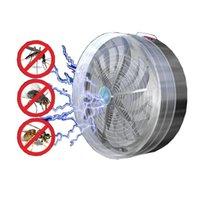 sivrisinek güneş böcek öldürücü toptan satış-Güneş Sivrisinek Katili Güneş Enerjili Buzz UV Lamba Işık Fly Böcek Bug Sivrisinek Öldürmek Zapper Killer Dropshipping 410