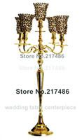 cam bardak yana toptan satış-Yeni varış sıcak satış kristal cam bardak tutucu düğün iyilikparti dekorasyon