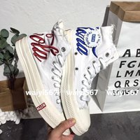 эксклюзивные ботинки оптовых-Эксклюзивный магазин KITH совместный продукт скейтборд обувь Повседневная обувь высокого качества мужская женская обувь на открытом воздухе Size36-45