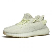 Wholesale mens west - Originals SPLY 350 V2 Kanye West Butter New Mens Designer Sports Running Shoes for Men Sneakers Women Luxury Brand Casual Trainers
