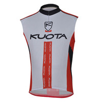 Wholesale bike kuota for sale - Group buy KUOTA team Cycling Sleeveless jersey Vest Ropa Ciclismo clothing Bicycle Mountain Bike wear summer Maillot U71801