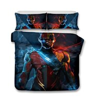 Wholesale 3d bedding set for sale - 3D Design Art Bed Sets DC Comic Pattern Bedding Duvet Cover Bedding Set Duvet Cover Barry Allen The Flash