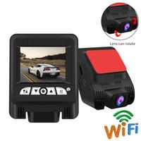 internationales englisch großhandel-Auto Dvr Kamera Sony IMX323 Full HD 1080P 170 Grad Nachtsicht Video Registrator Recorder International Version WiFi-Telefon Steuer