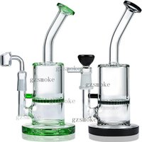 Wholesale hookah accessories for sale - Group buy Bong mini water pipes bongs quartz banger glass pipe dab rigs smoking accessories hookahs oil rig dabber wax
