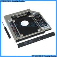 hdd laptop sabit disk toptan satış-Toptan-Yeni evrensel SATA 2nd HDD SSD Sabit disk sürücü caddy Adaptörü Bay LENOVO ThinkPad SL300 SL400S Laptop için